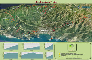 Avalon Area Trails Map