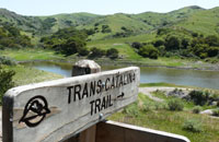 trans catalina trail and trails that make up node